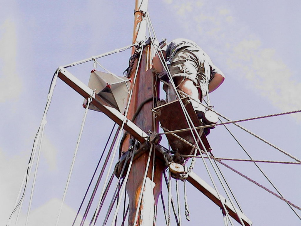 aufbringen von schiffen